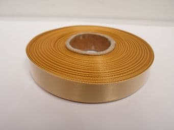 Yellow Gold Satin ribbon Double sided, 3mm 7mm 10mm 15mm 25mm 38mm 50mm Roll Bow